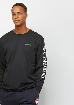 Columbia Sportswear North Cascades Long Sleeve black white logo