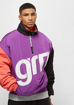 Grimey Flamboyant Pullover Jacket purple