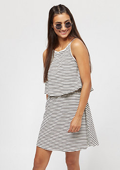 Urban Classics Ladies 2 Layer Spaghetti Dress offwhite/black