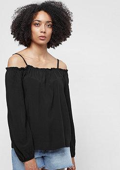 Urban Classics Ladies Cold Shoulder Smoke Longsleeve black