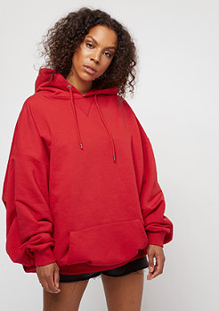 Urban Classics Ladies Long Oversize Hoody firered