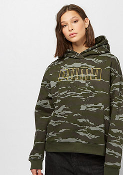 Puma Camo Cropped forest night/aop