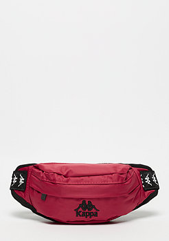 Kappa Anais Hipbag dark red/black/white