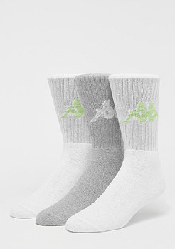 Kappa Deniz Crew Socks 3P white