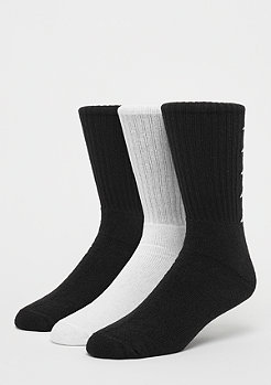 Kappa Deniz Crew Socks 3P black