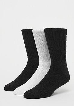 Kappa Deniz Crew Socks 3P black