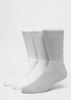 Kappa Derik Crew Socks 3P white