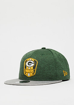 New Era 9Fifty NFL Grenn Bay Packers Road Sideline otc