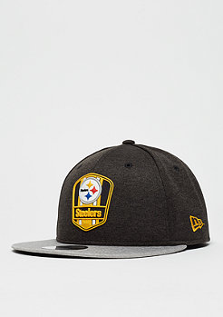New Era 9Fifty NFL Pittsburgh Steelers Road Sideline otc