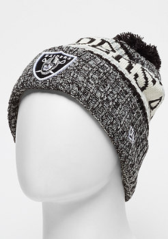 New Era NFL Oakland Raiders Bobble Sideline Knit Home otc