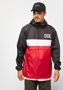 DGK Blocked Windbreaker black