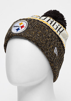 New Era NFL Pittsburgh Steelers Bobble Sideline Knit Home otc