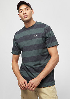 Reell Striped deep green/navy