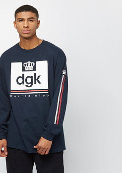 DGK Hustle Club LS navy
