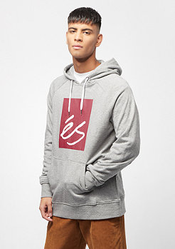 éS Main Block Fleece grey heather