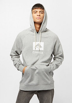 Emerica Brand Combo Hoodie grey heather