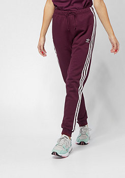 adidas Regular Cuff maroon
