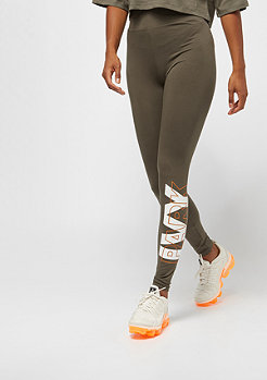 IVY PARK Layer Logo Ankle Leggings crocodile