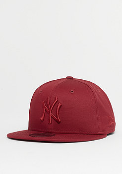 New Era 9Fifty MLB New York Yankees League cardinal/cardinal