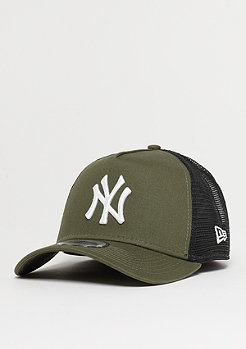 New Era 9Forty MLB New York Yankees League Trucker nw olv/op wht