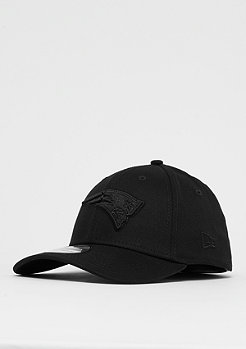 New Era 39Thirty NFL New England Patrio Black on Black black/black