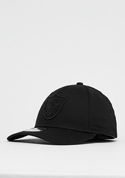 New Era 39Thirty NFL Oakland Raiders Black on Black black/black