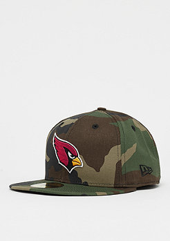 New Era 59Fifty NFL Arizona Cardinals Essential Camo woodland camo