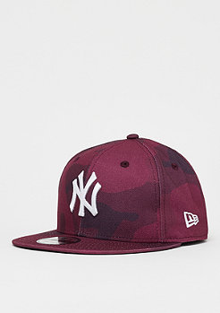 New Era 9Fifty MLB New York Yankees Camo Color maro cmo/opt wht