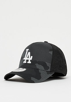 New Era 9Forty MLB Los Angeles Dodgers Camo Trucker midnit cmo/op wh