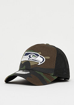 New Era 9Forty NFL Seattle Seahawks Camo Trucker woodland camo