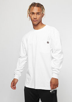 Dickies Pocket Tee L/S white