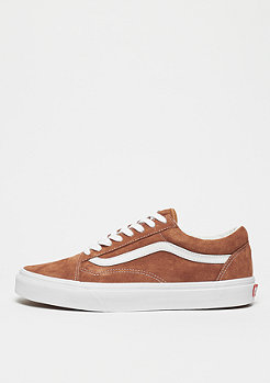 VANS Old Skool leather brown/true white