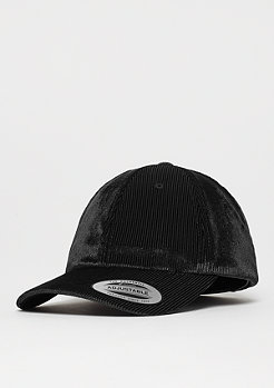 Flexfit Corduroy Satin Dad Cap black