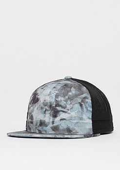 Flexfit Used Camo Trucker darkgrey/black mesh