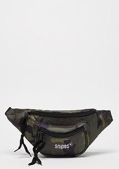 SNIPES Basic Logo Waist Bag camo