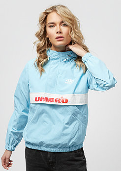 Umbro Umbro wmn Rain Jacket sky blue/white/red