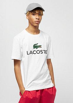 Lacoste Logo Print white