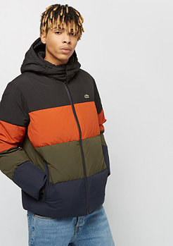 Lacoste Blouson nevade orange/meridian blue-baobab-black