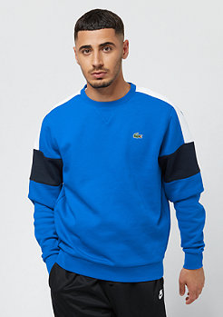 Lacoste Sweatshirt blue royal/white-navy blue