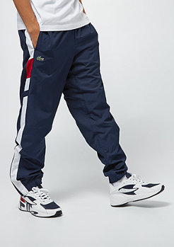 Lacoste Tracksuit Trousers navy blue/white lighthouse red