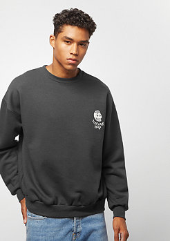 Cheap Monday Goal sweat Flex skull dark grey
