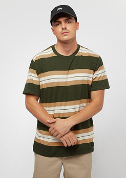 RVCA Oxnard Stripe dark military