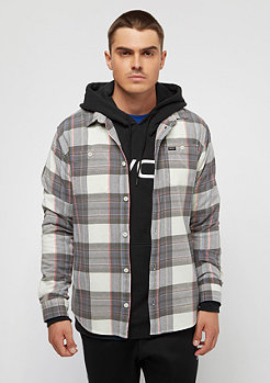RVCA Ludlow Flannel Is silvr bleach