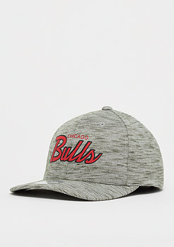 Mitchell & Ness NBA Chicago Slub Print 110 Snap grey