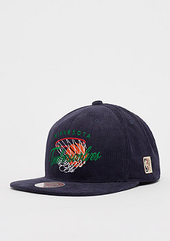 Mitchell & Ness NBA Minnesota Timberwolves HWC All Net Snap navy