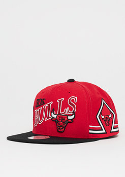 Mitchell & Ness NBA Chicago Bulls Side To Side Snap red