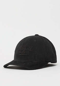 Mitchell & Ness Cord Curved Snap black