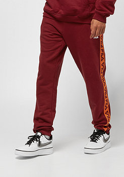Fila FILA Urban Line Tadeo Tape Sweat Pants merlot