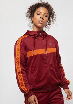 Fila FILA Urban Line Teela Hooded Zip Track Jacket merlot
