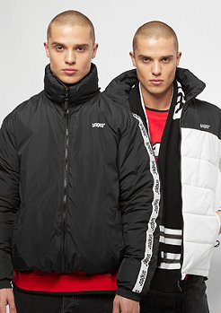 SNIPES Reversible Puffer black/white